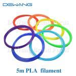 21 Color 5M PLA 3D Printer Filament 1.75mm For 3D Printing Pen Doodle Manufactures