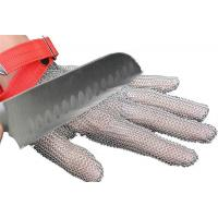 XXS-XXL 304L Protection Safty Stainless Steel Mesh Safety Gloves For Butcher High Cut Resistance Manufactures