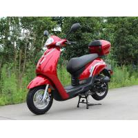 belt transmission max speed 60km/h with 50cc Single Cylinder, 4 Stroke, Air-Cooled, horizontal type scooter Manufactures