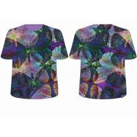 Quality 3D mesh fabric T-shirt,sublimation sportswear,custom print OEM and ODM service for sale