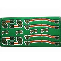 Buy cheap HASL FR-4 1oz Regid-Flexible Multilayer PCB Board with Green Soldermask from wholesalers