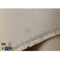 """High Silica Fabric 800℃ 1200G 36"""" Wide Brown Chemical Resistant Manufactures"""