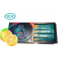 Buy cheap Guangzhou Hotel Travel Orange Flavour Disposable Alcohol Free Liquid Mouthwash Small Size from wholesalers