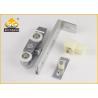 Buy cheap Metal Stainless Steel Sliding Door Hardware, Wood Hanging Slid Door Roller from wholesalers