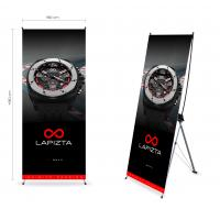 Trade Show Display Customized Tripod X Stand Banners Manufactures