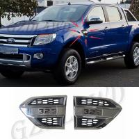 China Plastic Wind Port Cover Fender Side Air Outlet Air Flow Outlet Cover Trim For Ford Ranger on sale