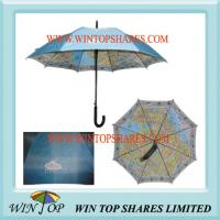 Double Layers Promotion Map Umbrella(WT5064) Manufactures