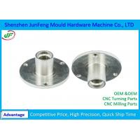 Buy cheap High Precision CNC Machine Parts , CNC Motorcycle Parts zinc / nickel plating from wholesalers