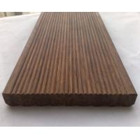 Carbonized Strand Woven Bamboo Decking, outdoor bamboo decking Manufactures