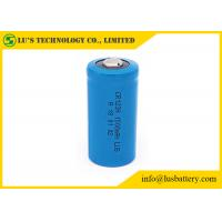 China CR123A 1500mah 3V Lithium Manganese Dioxide Battery Stable Performance on sale