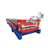 Trapezoidal PPGL Metal Roofing Sheet Roll Forming Machine With 22 Rollers Manufactures