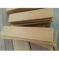 Composite Custom WPC Solid Board , 60cm size cut solid deck for DIY garden deck Manufactures
