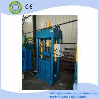 Factory Direct Sale Used clothing Baling machine/used clothes and textile compress baler machine Manufactures
