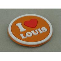 Multi Color Customized Plastic Coaster , Soft PVC Promotional Luggage Tag Manufactures