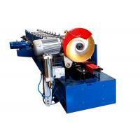 Water Falling Tube Downpipe Roll Forming Machine With Pipe Bending 21 Stations Manufactures