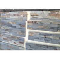 Natural Slate Cultured Stone Panels Rust Stone For Indoor Outdoor Wall Manufactures