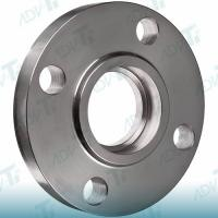 SW Forged Flange Titanium Pipe Fittings Socket Weld Flanges Hydraulic And Steam Lines Manufactures