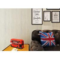 China White Nature Modern Bedroom Wallpaper For Sofa Background , Wood Flooring Looking on sale