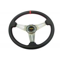 China PU Material Race Car Steering Wheel Protect Hands From Over - Hot / Cold on sale