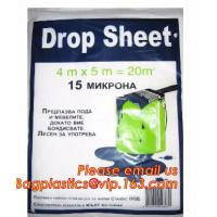 Protection Sheet Disposable Drop Painting Paint Dust Cover Sheets, Protective Painter Drop Cloth Drop Sheet Anti Corrosi Manufactures