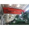 European style wireless cranes remote controls double beam overhead crane for sale