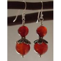 Carnelian Earring #122 Manufactures