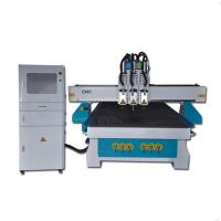 Dsp 6KW Water Cooling Spindle Cnc Router Woodworking Machine 3 Head High Speed Manufactures