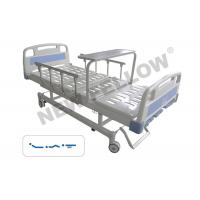 Adjustable Powder Coated Steel Medicare Hospital Bed With Side Rails Manufactures