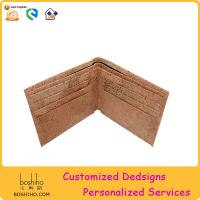 Boshiho 2015 fashion new product cork wallet Manufactures