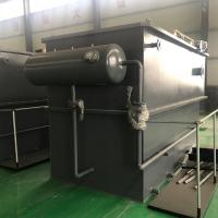 Stainless Steel Dissolved Air Flotation Equipment In Food Industry Waste Water Treatment Manufactures