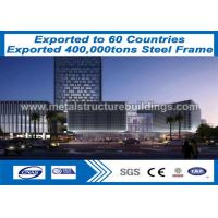 China CE Verified Prefab Steel Structure Projeto Steel Frame Formed Metal Shed Buildings on sale
