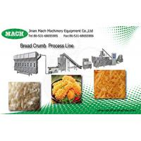 fully automatic stainless steel bread crumbs production line Manufactures