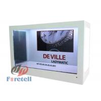 TFT Lcd Panel Transparent LCD Display Advertising Machine 100 ~ 240V Power Supply Manufactures