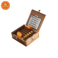 Quality Decorated Humidor Custom Cigarette Case Hot Stamping Wood / Pinewood Material for sale