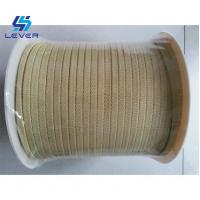 Buy cheap Kevlar yarn Aramid Ropes used on Glass Tempering Furnace quenching from wholesalers