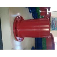Red Epoxy Coating Ductile Iron Flange Pipe One End Flange Other End Spigot Manufactures