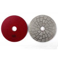 100# 3 Inch Vacuum Brazed Diamond Tools Glass Polishing Pads Easy Operation Manufactures