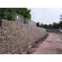 Simple Installation Gabion Wall Baskets 80 X 100M Wire Dia 3.05mm / 3.8mm / 2.2mm Manufactures