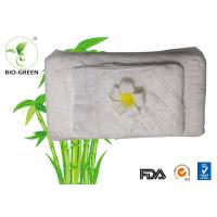 China Eco Friendly Bamboo Disposable Nappy Liners , Soft Biodegradable Bamboo Fleece Inserts on sale