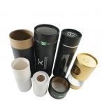 Custom kraft paper black tube packaging round box for skincare Manufactures