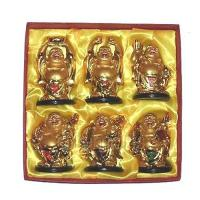 Six Golden Buddhas of Happiness, Wealth and Prosperity in Feng Shui Manufactures