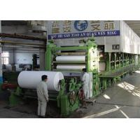 China A4 printing paper, copy paper, writing paper making machine on sale