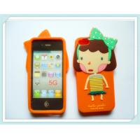 Cute Romania Silicone Cell Phone Case For  IPhone 5S / 5G  Manufactures