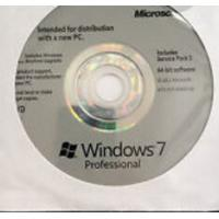 Bootable USB Windows 7 License Key Professional 32 Bit w/SP1 English Media Manufactures