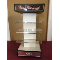 China Acrylic Cosmetic Display Stand Visual Merchandising 4 - Way Spinning Display Stand on sale