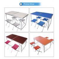 MDF Folding Picnic table and seat sets Camping table Outdoor use Manufactures