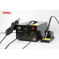 PCB Temperature Controlled 2 In 1 Soldering Station With Hot Air Soldering Gun Manufactures