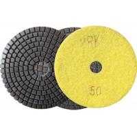 100mm 4 Inch Diamond Wet Resin Polishing Pads High Efficient disc Manufactures