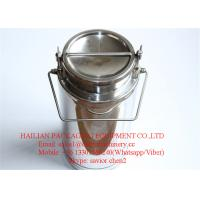 20 Liter Capacity Stainless Steel Milk Bucket , Milk Drum Milk Can Manufactures
