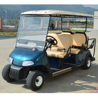 48V Maintenance-Free Battery Operate Electric Small Golf Carts With 6 Sofa Seats Manufactures